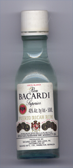 «Ron Bacardi Superior Carta Blanca»