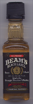 «Beam's Black Label 8 aged years»