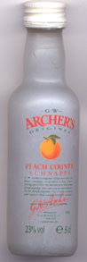 «Archer's Original Peach County»